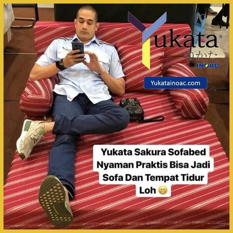jual sofa bed inoac yukata sakura